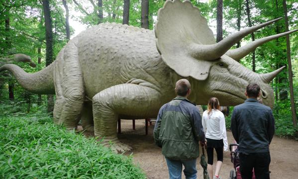 Der Saurierpark in Bautzen