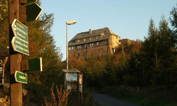 Die Hochwaldbaude im Naturpark Zittauer Gebirge
