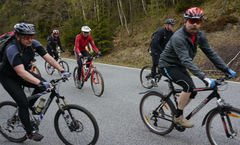Mountenbiker im Zittauer Gebirge © Lauschevideo