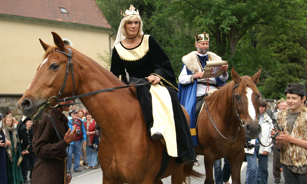 Königspaar - Gabler Straßenfest © Lauschevideo