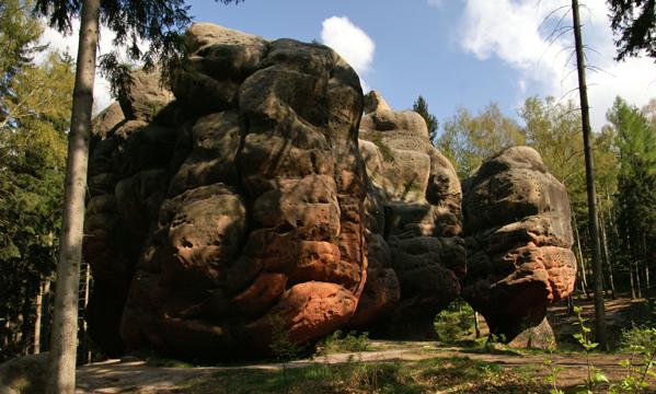 Wanderung zum Kelchstein im Zittauer Gebirge
